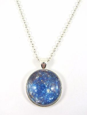 £4.99 • Buy Planet Mercury Design Silver Plated Necklace New In Gift Bag Astronomy Space