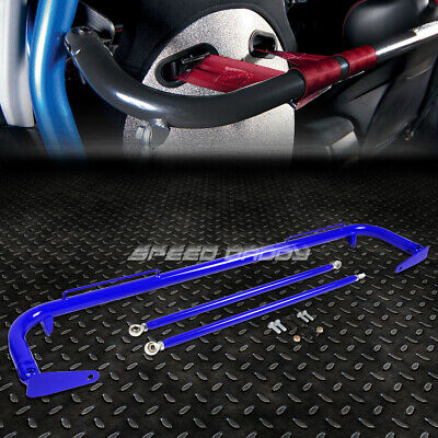 $91.99 • Buy 49  Stainless Steel Racing Safety Seat Belt Chassis Roll Harness Bar Rod Blue