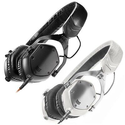V-Moda XS DJ Studio Gaming Metal Foldable Headphones Inc Hard Carry Case • 159£