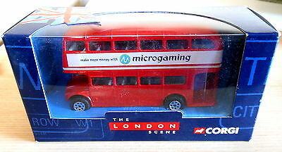 $ CDN25.09 • Buy Corgi The London Scene Double Decker Routemaster Bus Die-Cast (2001) Microgaming