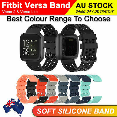 AU2.39 • Buy Small Large Size Replacement Wristband Watch Band Strap For Fitbit Alta Tracker