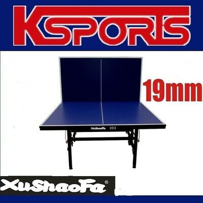 AU485 • Buy XuShaoFa 19mm Table Tennis Table Ping Pong Table Professional Size - ITTF APPROV