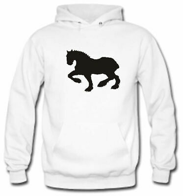 Shire Horse Present Funny Hoodie Gift Novelty Joke Jumper Top • 15.99£