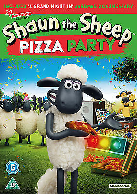 SHAUN THE SHEEP - PIZZA PARTY (DVD) (New) • 3.99£