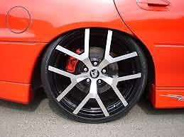 AU1590 • Buy 20  G8  Commodore Wheel And Tyre Package Polished Face