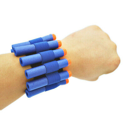 Tactical Wrist Band Ammo Holder Bandolier For Nerf Bullets Etc Party Bag Favour • 15.95£