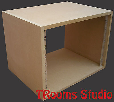 8u UNIT 19  INCH RACK CABINET RECORDING STUDIO FURNITURE 300mm Deep • 29.99£