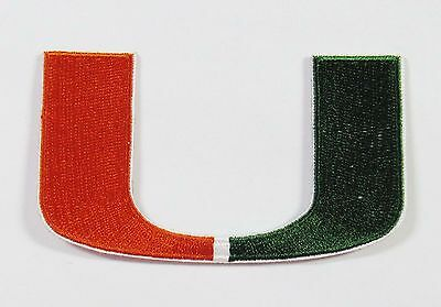 $4.99 • Buy Lot Of (1) University Of Miami Patch Patches (logo) L@@k Item # 134