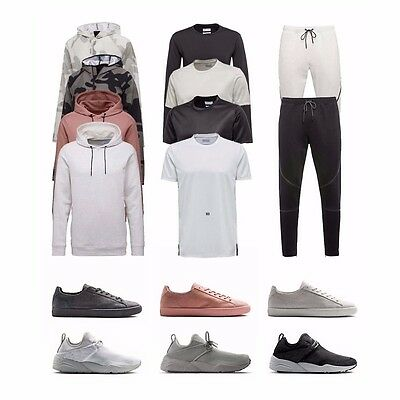 Puma X STAMPD Clyde Trinomic Woven L/S T-Shirt Hoody Track Pants Jackpack Men's • 148.95£