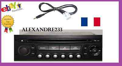 £6.81 • Buy PEUGEOT 307 Aux Plomb, Peugeot Rd4 Voiture Stereo Aux In Câble IPod IPhone
