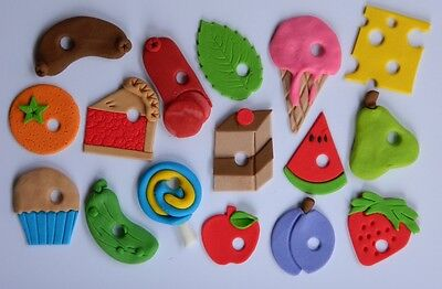 16 Edible HUNGRY CATERPILLAR INSPIRED CUPCAKE Cake Topper DECORATION Book Theme • 15£