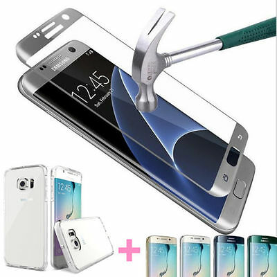 $ CDN5.68 • Buy Full Cover Tempered Glass Screen Protector For Samsung Galaxy S7 Edge Plus