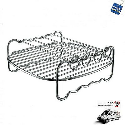 AU53.26 • Buy Phillips HD9240 Air Fryer Viva Collection Baking Tray Accessory Rack + Skewers