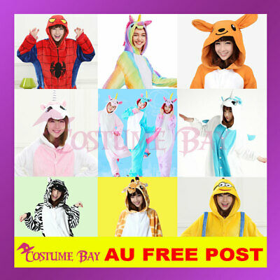 AU25.95 • Buy Adult Kids Pokemon Pikachu Charmandar Umbreon Dragon Kigurumi Onsie Pajamas
