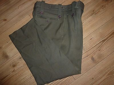Royal Marines Mans Lovat Green Trousers Various Sizes Genuine British Army Issue • 35£