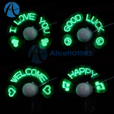 AU7.29 • Buy LED Fan Mini USB Powered Cooling Flashing Real Time Display Function