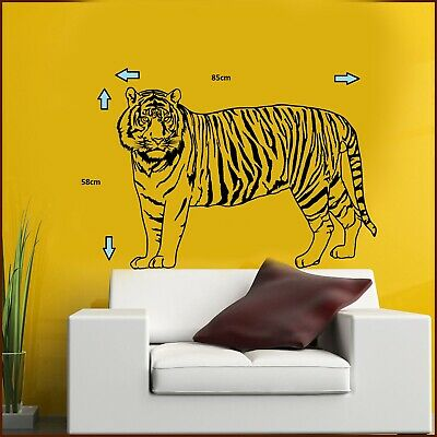 Tiger Realistic Wall Art Sticker/Decal • 12.50£