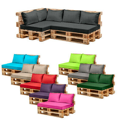 £26.97 • Buy Pallet Garden Furniture Cushions Sets Water Resistant Covers Seat Wooden Sofa