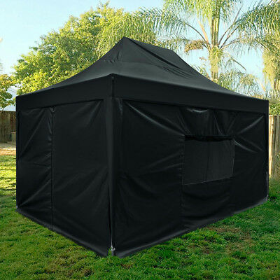 $1199.99 • Buy Upgraded Quictent 10x15 Ft EZ Pop Up Canopy Instant Party Tent With Sides Black