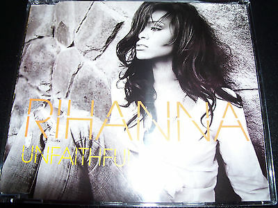 AU10.19 • Buy Rihanna Unfaithful Australian Enhanced CD Single – Like New