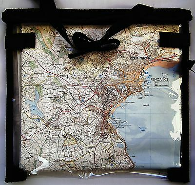 £4.19 • Buy Deluxe Waterproof  Map Case Wallet Cover Walking Hiking Scouts D Of E Cycling