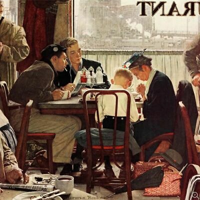 $ CDN32.41 • Buy The Norman Rockwell Poster Book ~ 20 Full Color Posters Suitable For Framing