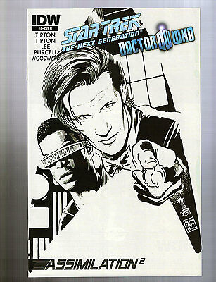Star Trek The Next Generation/Doctor Who: Assimilation #4 Incentive Variant IDW • 10.85£