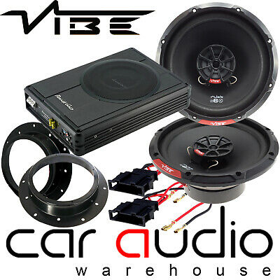 Vibe 480W Speakers & 300W Underseat Car Subwoofer Kit To Fit VW T5.1 Transporter • 229£
