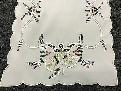 AU18.96 • Buy Christmas Holiday Decoration Embroidered Tablecloth Dining Table Placemat Runner