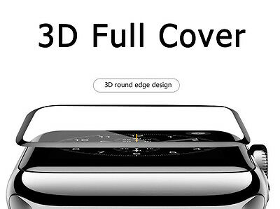 $ CDN2.29 • Buy Apple Watch Series 2 Tempered Glass Screen Protector Full Edge 38mm /42mm IWatch