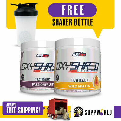 AU124.95 • Buy OXYSHRED EHPLabs Oxyshred Best Selling Fat Burner Weight Management - TWIN PACK