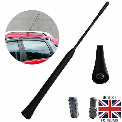 Universal Car Beesting Bee Sting Radio Stereo Flexible Aerial Arial Mast Antenna • 2.95£