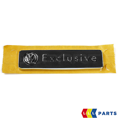 Genuine Vw Golf Passat Scirocco Touareg Exclusive Badge Emblem Trunk 1k0853688f • 24.99£