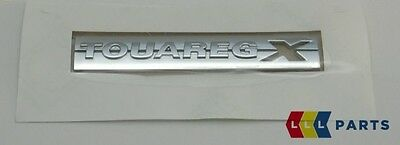 New Genuine Vw Touareg Side Chrome Touaregx Badge Emblem Left N/s 7p6853688 2zz • 26.99£