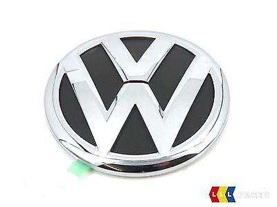 New Genuine Vw Touareg Chrome Vw Trunk Boot Lid Badge Emblem 7p6853630d Fod • 39.99£