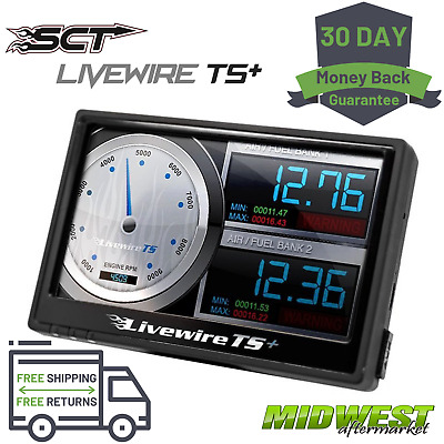 $599 • Buy SCT Livewire TS+ Performance Tuner / Monitor Fits Ford Gas & Diesel Vehicles