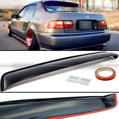 2pcs Sun//Rain Guard Vent Shade Window Visors Fit 92-95 Civic Coupe//Hatchback