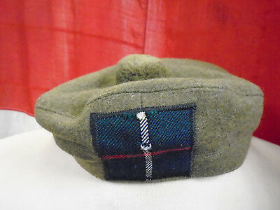 Tam O Shanter British Army Issue With Tartan Leslie Patch Various Sizes • 35£