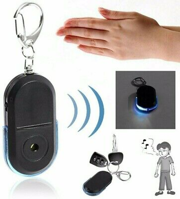 Lost Key Finder Flashing Beeping Locator Remote Chain Led Sonic Torch Anti Lost • 2.49£