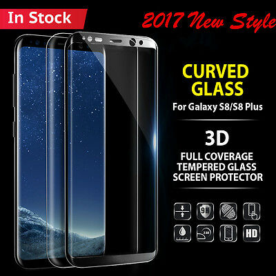 $ CDN4.39 • Buy 3D Full Cover Tempered Glass Screen Protector Film For Samsung Galaxy S9 S9 Plus