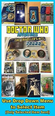 BBC Doctor Who Adventures Toys, Model Kits, Accessories & Collectables + More  • 3.49£