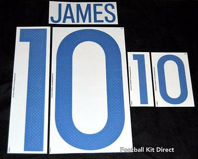 Colombia James 10 2016 Football Shirt Name/number Set Home Sporting ID Player • 18.67$