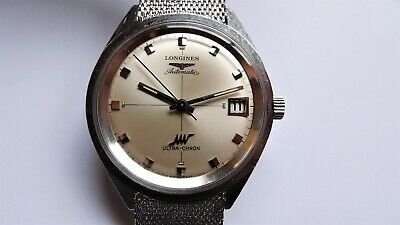 £695 • Buy LONGINES Ultra-Chron Ref 8301 3 Vintage Watch Automatic Serviced