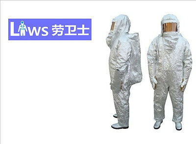 Thermal Radiation 1000 Degree Aluminized Siamese Fire Proximity Suit • 878$