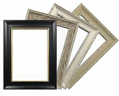 A1 A2 A3 A4 Shabby Chic Photo Frame Picture Poster Certificate Frames Vintage • 7.78£