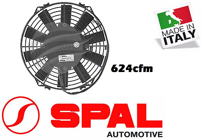 AU149 • Buy For Spal 9  Thermo Fan Straight Blade 12v Puller 624 CFM 7.1amps Low Profile New