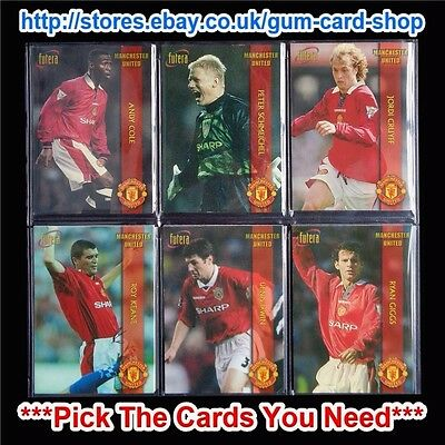 £0.99 • Buy Futera - Manchester United 1998  *pick The Cards You Need*