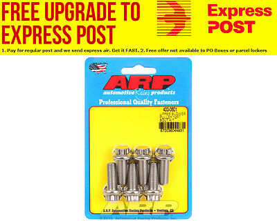 AU55.70 • Buy ARP S/S Blower Pulley Kit, 12-Point Head Suit 6-71 & 8-71 Supercharger 3/8  X 1.