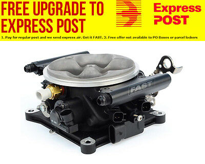 AU2020.14 • Buy FAST 4BBL Throttle Body Cast 4150 Style With Injectors & Rails