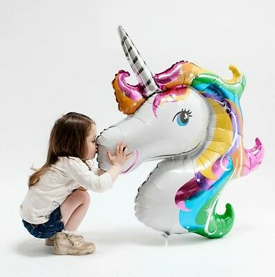 AU6.78 • Buy Unicorn Foil Balloon Fantasy Horse Girls Birthday Party Supplies Decorations